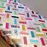Domino Patchwork Quilt PDF Pattern