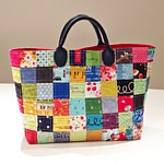 Patchwork London Tote Bag PDF Pattern