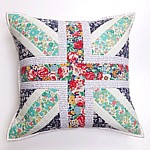 The Union Jack Cushion PDF Pattern pillow