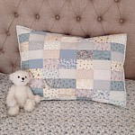 valentina pillow case cushion patchwork pattern from Tikki
